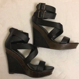 ❤️Bucco capensis strappy wedges
